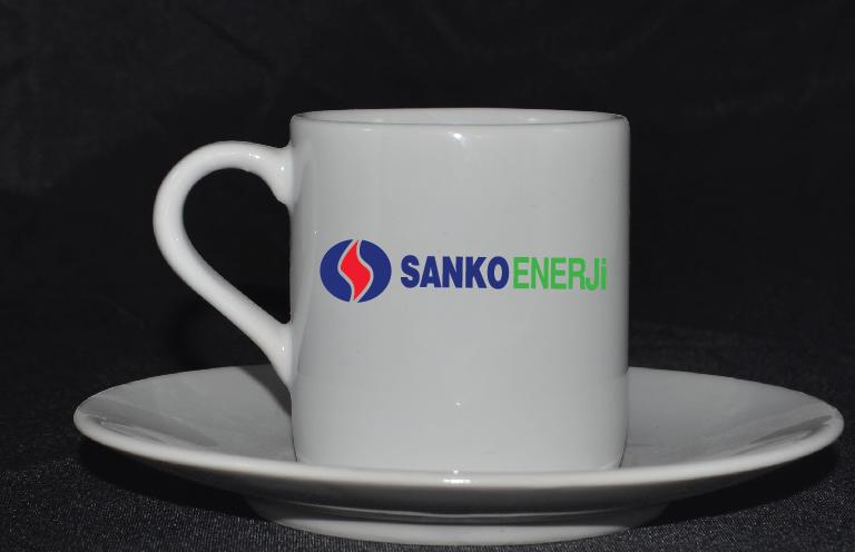 Silindir Türk Kahve Fincanı